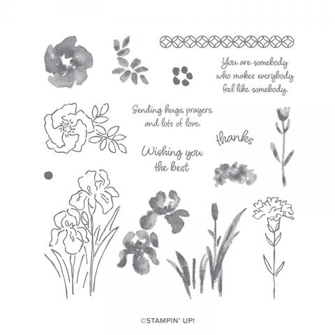 Inspiring Iris Stamp Set by Stampin' Up!