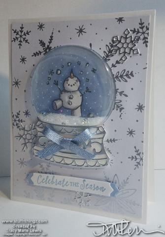 Snowman Merry Christmas Card #6 Angle   Tracy Marie Lewis   www.stuffnthingz.com