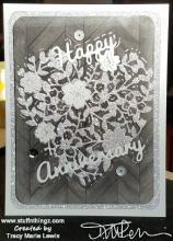 Twenty-Seventh Anniversary Card | Tracy Marie Lewis | www.stuffnthingz.com