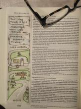 Bible Journal Phillipians 3:13 | Tracy Marie Lewis | www.stuffnthingz.com