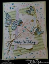Retiring Butterfly Grunge Card | Tracy Marie Lewis | www.stuffnthingz.com