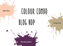 June 2018 Colour Combo Blog Hop - Anniversary Card | Tracy Marie Lewis | www.stuffnthingz.com