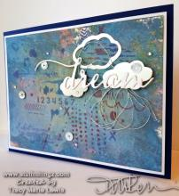Dream Distress Oxide Card | Tracy Marie Lewis | www.stuffnthingz.com