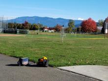 Last Day Of Disc Golf At BakerView Park - And What A View! | Tracy Marie Lewis | www.stuffnthingz.com