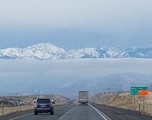 Idaho to washington cloud bank   Tracy Marie Lewis   www.stuffnthingz.com