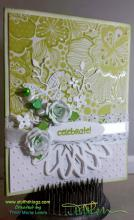Lime Celebrate Party Card