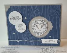 Masculine Funny Birthday Card | Tracy Marie Lewis | www.stuffnthingz.com