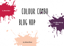 October 2018 Colour Combo Blog Hop | Tracy Marie Lewis | www.stuffnthingz.com