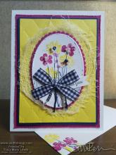 Colorful Pressed Flowers - For You Card | Tracy Marie Lewis | www.stuffnthingz.com
