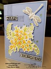 Awesomely Artistic Happy Birthday | Tracy Marie Lewis | www.stuffnthingz.com