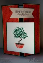 Thoughtful Bonsai Tree Card | Tracy Marie Lewis | www.stuffnthingz.com