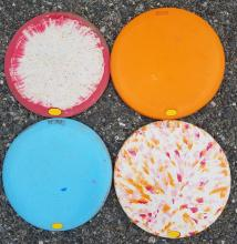 Spring Disc Golf - Vibram - Playing While We Can! | Tracy Marie Lewis | www.stuffnthingz.com