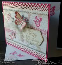 Libby's Birthday Card | Tracy Marie Lewis | www.stuffnthingz.com