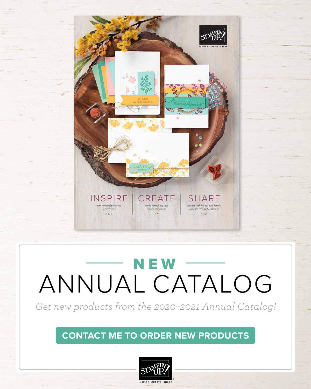 2020 Annual Catalog Stampin' Up!